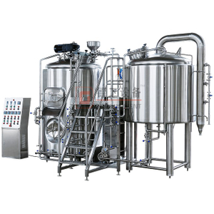1000L Stainless Steel Microbrewery Equipment Beer Brewing System for Bottle/cans Filling Beer