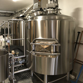1000L Customized Complete Brewery Equipment Stainless Steel 304/306 Steam Heated Beer Brewing System
