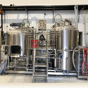 500l stainless steel Commercial Beer Brewing Equipment in Brewpub/restaurant