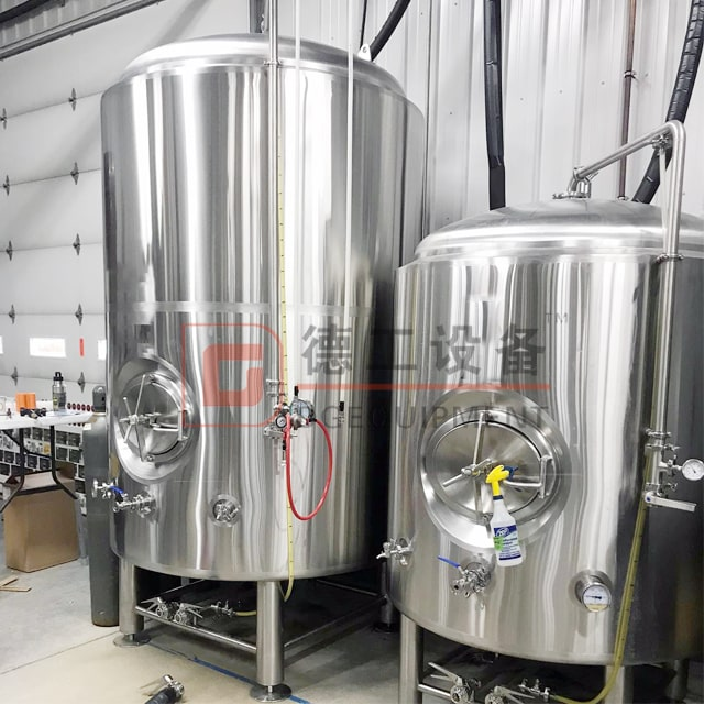 500L Pressured SUS 304 Isobaric Vertical Or Horizontal Conical Double/single Wall Beer Bright/brite Tank