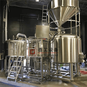 Customized 1BBL/5BBL/7BBL/10BBL craft beer brewing equipment mash tun kettle tun whilpool for sale