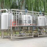5BBL to 20BBL 2 vessel brewhouse system Two-vessel mash lauter and boiling whirlpool tanks