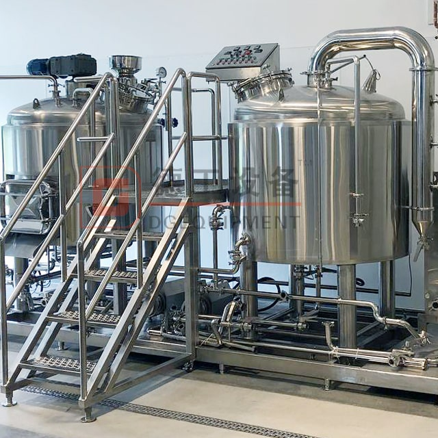 600L/1200L Commercial Brewing System Mash Tun Brewing Microbrewery Equipment Online for Sale