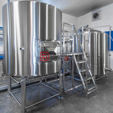 10HL Commercial Used Brew Kettle Mash Lauter Tanks Stainless Steel Beer Brewing Equipment