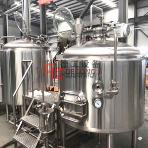 1000L Completed stainless steel insulated Semi-automatic commercial bar/personal brewery used beer brewing system