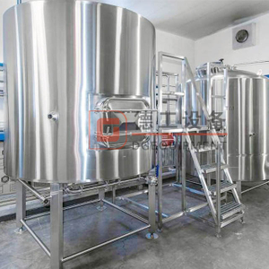 Certificate CE ISO TUV 500L Beer Brewery Equipment for Craft Brewhouse System Nano Brewery Equipment for Sale
