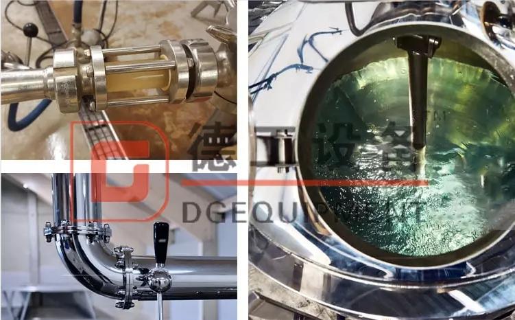 beer boiling tank