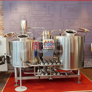 200L Home Brewing System Mini Brewery/restaurant/brewpub Used Beer Brewing Equipment