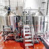 600L 1200L Commercial Brew Kettle Stainless Steel Tanks for Beer Production Near Me for Sale
