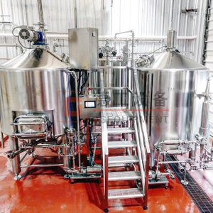 Hot New Equipment 500L(5hl) Steam Heating Craft Beer Brewhouse for High Quality Beer Brewing Equipment