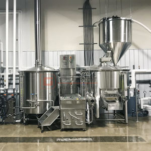 How To Start To Brew Beer with 1000L Commercial Used Brewery Double Wall Beer Brewing System