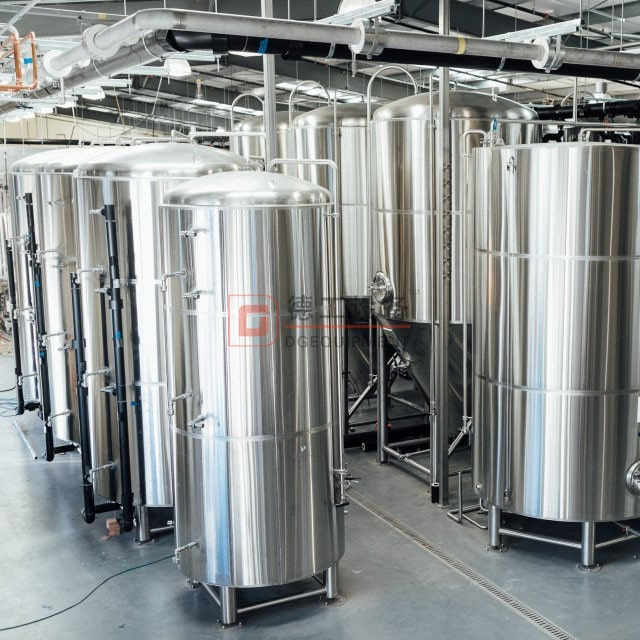 mid-sized brewing system 5bbl-15bbl brewery equipment custom-built for my client