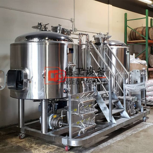 turnkey customed 500L stainless steel beer brewhouse equipment