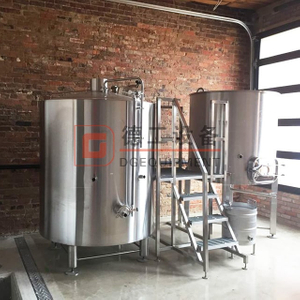 500 Liters SS Conical beer brew whirlpool kettle and fermentation tank complete beer brewing equipment in Europe