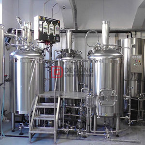 Custom made stainless steel European small home/bar available on 300 liter brewery equipment