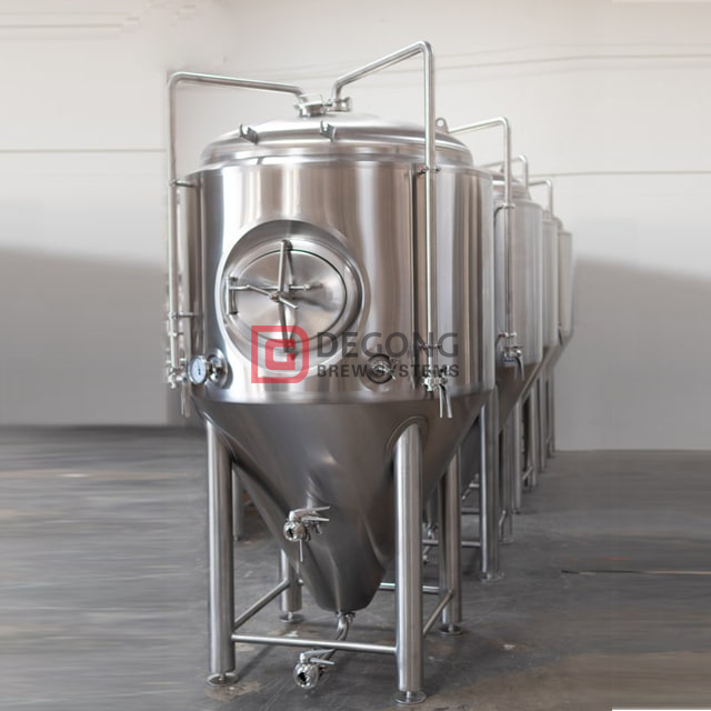 10 BBL CE certificated stainlesss steel conical insulated beer brewing tanks for sale