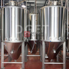 500L Stainless Steel Microbrewery Copper Insulated Conical Beer Brewing System for Sale