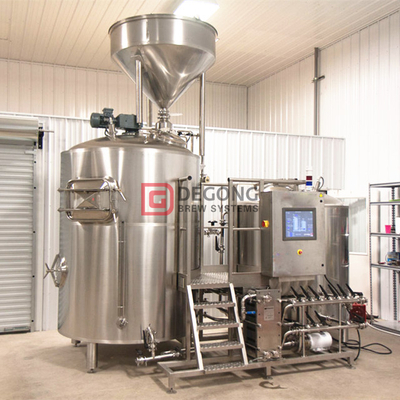 1000L stainless steel commercial brewery equipment brewhouse for brew pub/ restaurant