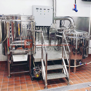 500L Mini Turnkey Beer Brewing System Automatic/semi-automatic Control Stainless Steel Brewing Equipment for Sale