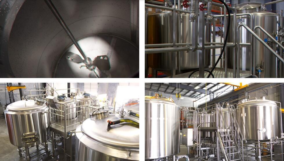 beer brewhouse mashing tank
