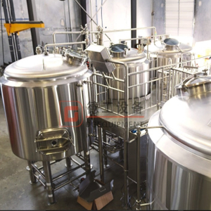 Turnkey Craft Brewhouse Equipment with Steam Jacket for Sale