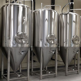 7BBL(1bbl=117litres) fermentation tank craft brewing equipment manufacturer stainless steel beer making line for sale