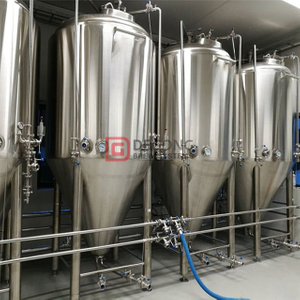 dimple jacketed 5000L fermenting vessel CCT fermentation tanks for craft beer