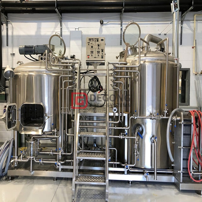 500L Craft Beer Machine stainless steel Brewing System Micro Brewery Equipment Hot Sale