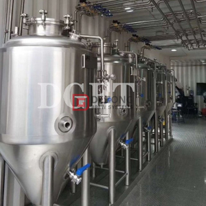 Double Jacketed 300L Fermentation Vessel Manual Unitank for Craft Beer Global Popularity