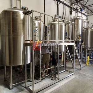 Brew Kettle Industrial Stainless Steel Machine for Craft Beer Turnkey Brewery Popularity in European10HL