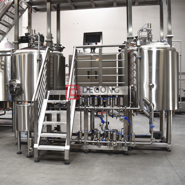 1000L commercial stainless steel micro beer brewing equipment beer brewhouse for sale