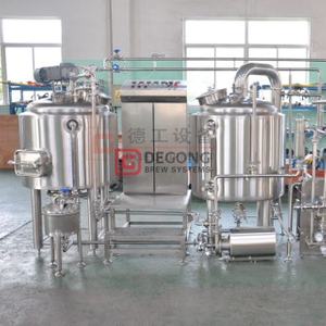 300L small scale home brewing system / restaurant used micro beer brewery equipment for sale