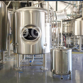 1000L Microbrewery Used Custom Vertical/horizontal Double Wall Stainless Steel Bright Tank/serving Tank