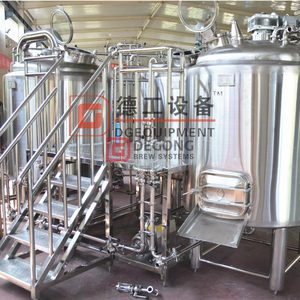 Turnkey industrial 2000L jacket beer brewing equipment for sale