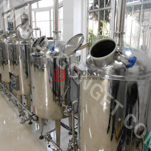 Mini 100L/200L Brewing Equipment for Brewing Craft Beer Brewery in Global Client